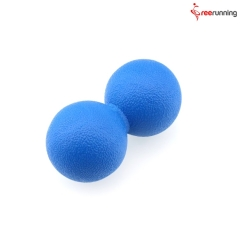 Rainbow Color TPE Double Massage Ball