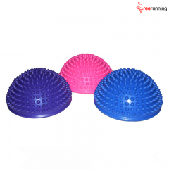 Half Round Spiky Massage Ball Exercises
