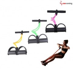 Sit-Up Full Body Resistance Band Workout