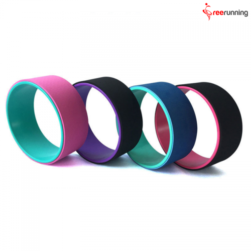 Relieves Pain and Stress ABS+TPE Yoga Wheel