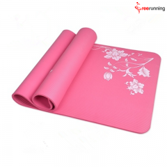 Custom Pattern TPE Private Label Yoga Mat