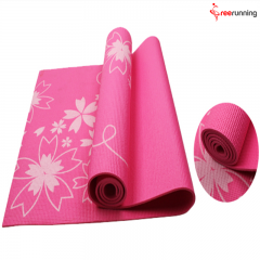 Multi Color PVC Exercise Yoga Mat