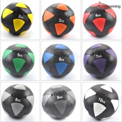 PU Leather Crossfit Medicine Ball Weight