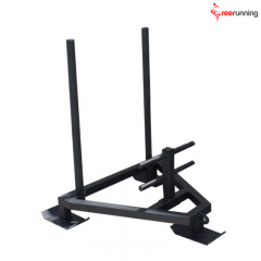 Resistance And Strength Training Exercises Sled Push Crossfit