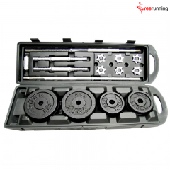 Black Painting Dumbbell Set 50KG