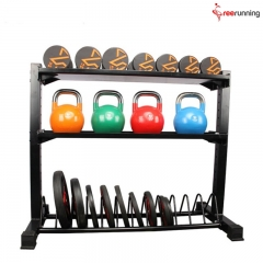 Functional Fitness Equipment Crossfit For Dumbbell & Kettlebell & Bumper Plates ...