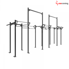 Double High Rise Crossfit Pull Up Rig
